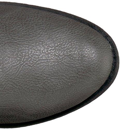 Rampage Damen Ivelia Fashion Kniehohe Casual Reitstiefel (erhältlich in Wide Calf) Grau
