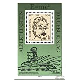 DDR block54 (Complete.Issue) First-Day Stamp 1979 Albert Einstein (Stamps for Collectors)