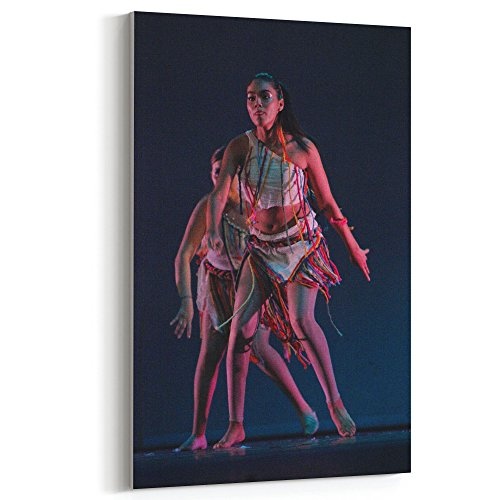 Westlake Art Ballet Dancing - Canvas Print Wall Art - By Canvas Stretched Gallery Wrap Modern Picture Photography Artwork - Ready to Hang 12x18 Inch (Pictures Of Jazz Dance Costumes)