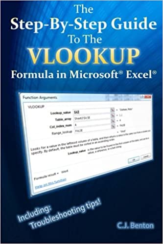 The Step-By-Step Guide To The VLOOKUP formula in Microsoft