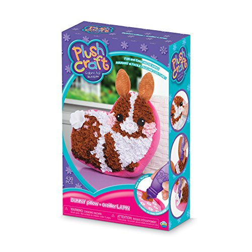 THE ORB FACTORY LIMITED 10027975 Plush Craft Bunny Pillow, 7.5