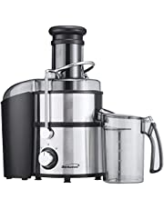 Brentwood JC-500 2-Speed 700w Juice Extractor with Graduated Jar, Stainless Steel