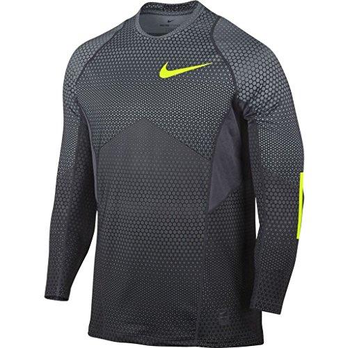 Nike Men's Pro Hyperwarm Long Sleeve Fitted Shirt XX-Large Hexodrome (Long Sleeve Footlocker)