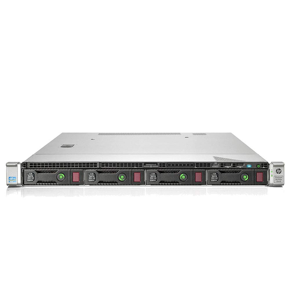 HP PowerEdge DL320e Server 1x E3-1240v2 3.4GHz 4-Core 8GB 2x 2TB 7.2K (Renewed)