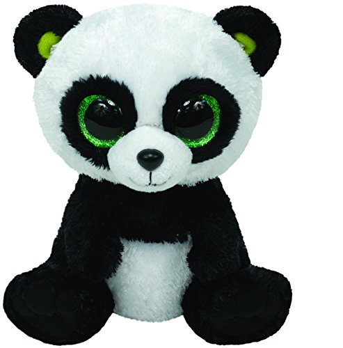 Panda Bear Beanie - Ty Beanie Boos - Bamboo - Panda