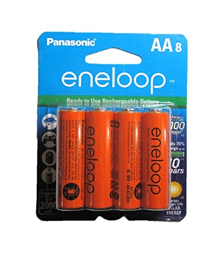 Eneloop AA NiMH Pre-Charged Battery Rechargeable 2100 Times
