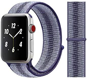For Apple watch band Blue Rainbow color for 42, 44 size