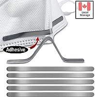 Metal Nose Strip for Masks – Nose Bridge Strips for Face Masks – Aluminum Mask Nose Wire - One-Side Sticky Clip for...