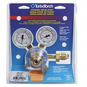 TurboTorch 0386-0814 245-03P Regulator Nitrogen Certified