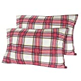 Nestl Bedding 100% Cotton Flannel Pillowcases - King - Best Reviews Guide