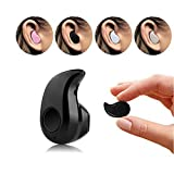 Airmate Ultra Mini Wireless Invisible Bluetooth 4.0 in-Ear Music Earphone Earbud Headset, Headphone with Microphone for iPhone, Samsung, LG, iPad, HTC and Most Smartphone