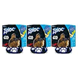 ziploc container twist n loc - Ziploc Brand Container Twist n' Loc Featuring Star Wars Design, Small, 16oz, 3ct, 3 Pack