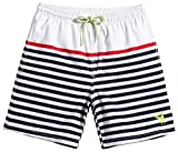 MaaMgic Kid Toddler Little Boys Swim Trunks Quick Dry with Drawstring