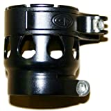 Custom Products Clamping Feedneck For EGO Paintball Marker Gun - Black Dust