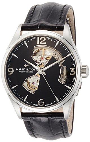 Hamilton Jazzmaster Automatic Open Heart Black Dial Men's Watch H32705731