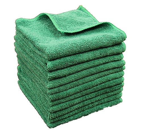 um Grade 100% Microfiber Towels! Soft, Plush & Durable - Ideal for TV Screens, Laptops, Windows, Mirrors, Cell Phones, Glasses and More! 100% Lint & Scratch-Free Guaranteed ()