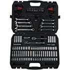 AmazonBasics Mechanic's Socket Set – 145-Piece