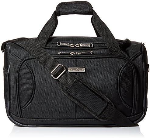Samsonite Aspire Xlite Softside Expandable Luggage with Spinner Wheels, Black, Boarding Bag
