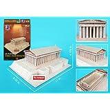 Daron Parthenon 3D Puzzle, 25-Pieces