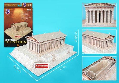 Daron Parthenon 3D Puzzle, 25-Pieces (Ancient Greece Kits)