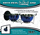 Pets On-The-Go Food and Water Dish (blue) (10.5″H x 6.5″W x 9″D) Review