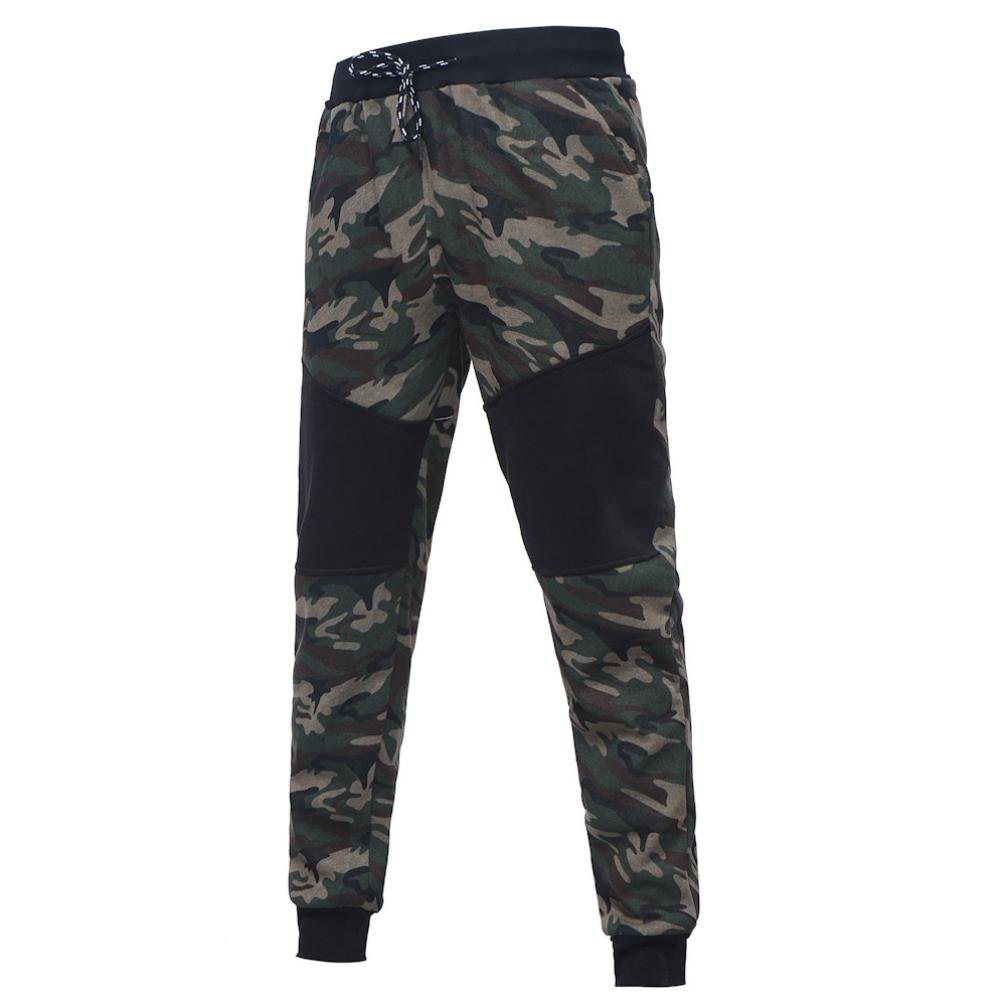 Pantalones cortos hombre Color sólido Ocio Pantalón Sport, YanHoo® Pantalones de jogging de los hombres de los pantalones del pantalón de los deportes del ...