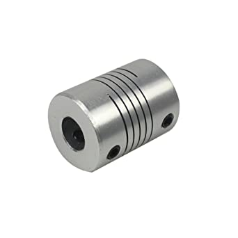 Impresora 3d Motor Paso 5 x 8 x 25 mm flexible embrague eléctrico/onda acopladores