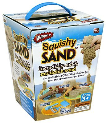 Squishy Moldable Sand