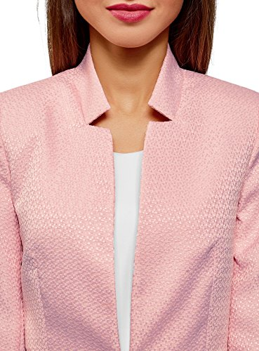 Giacca Ultra Oodji Parte Rosa4000n Inferiore Staccabile Donna Con dBsQroCxth