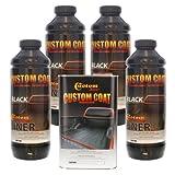 Custom Coat BLACK 4 Liter Urethane Spray-On Truck Bed Lin...