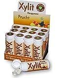 Xylit Kaugummi Fruchtig-Frisch - ohne Titandioxid, Inhalt 30 Stk, 12 Packungen