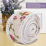 Wavy Lace Linen Roll,5 Meters Linen Roll Lace