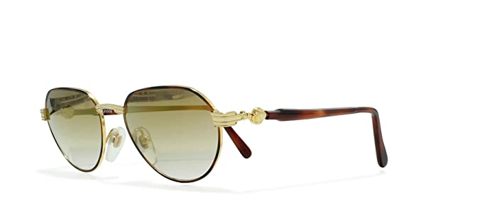 1ae191610916 Image Unavailable. Image not available for. Colour: Gianni Versace G52 14L  Gold Vintage Sunglasses ...