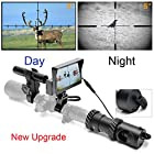 bestsight DIY Digital Night Vision Scope for Rifle Hunting with Camera and 5""