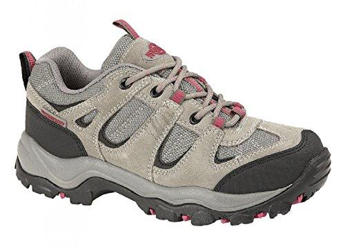 Good Size 6 Territory Trainers Trekking 8 Grip Fuchsia 7 Waterproof 4 Women's Shoes 5 Ladies Hiker Northwest Grey BqCOw