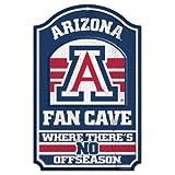 WinCraft NCAA University of Arizona Wood Sign, 11'' x 17''
