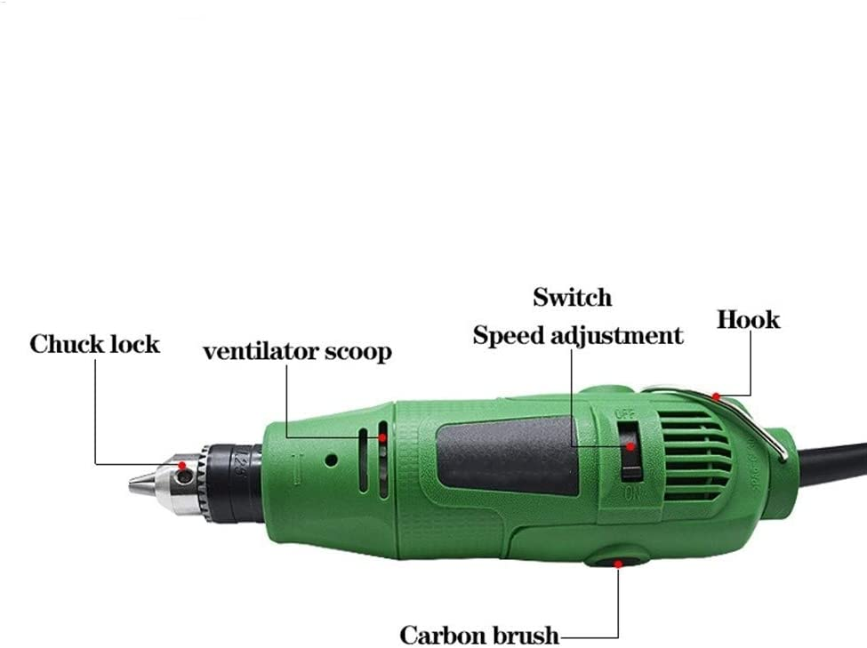 Sbeautli 260W Electric Drill Engraver Rotary Tool Polishing Machine Power Tool Speed Engraving Pen With Accessories Woodworking Tool (Color : TX5) Tx4