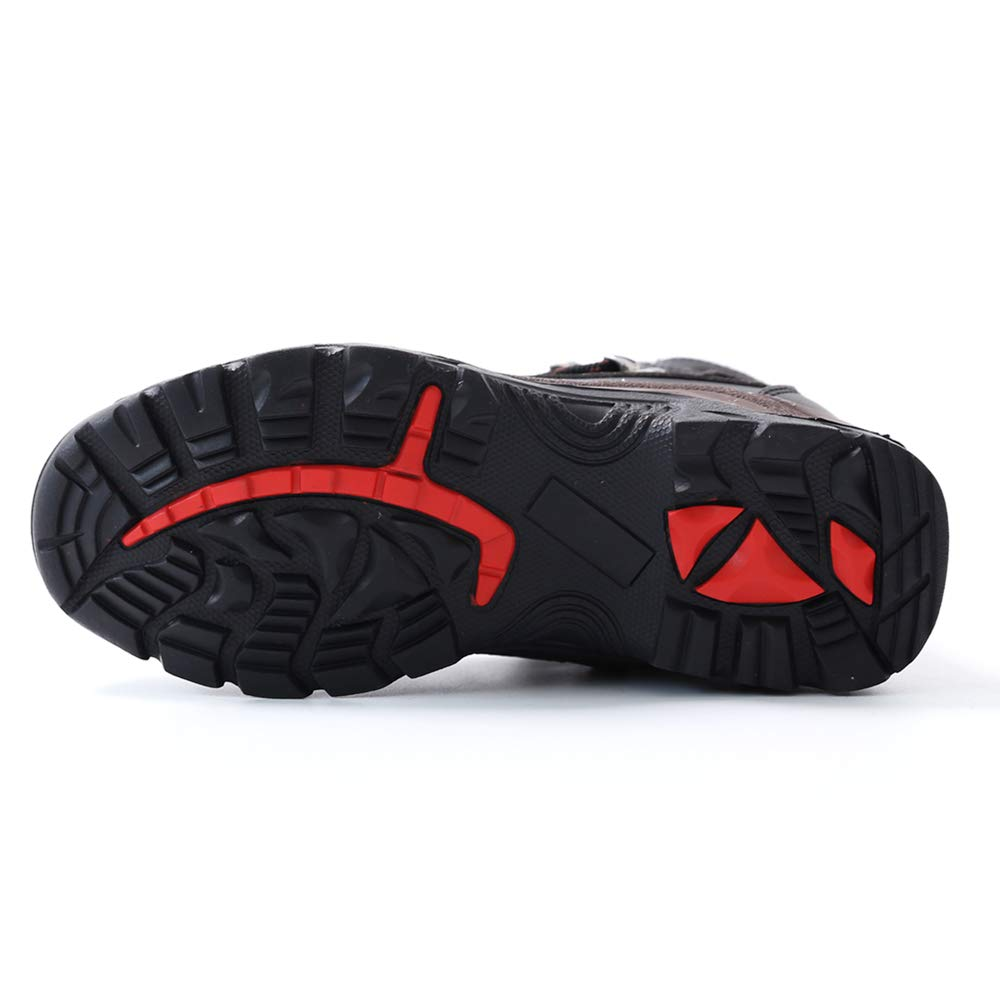 Botas de Seguridad Mujer Hombre Trabajo S3 Puntera de Acero Zapatos Impermeable Zapatillas de Senderismo Gr.35-46: Amazon.es: Zapatos y complementos