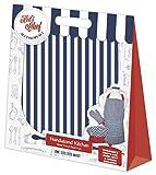 Handstand Kitchen Child's Bold Navy Stripe