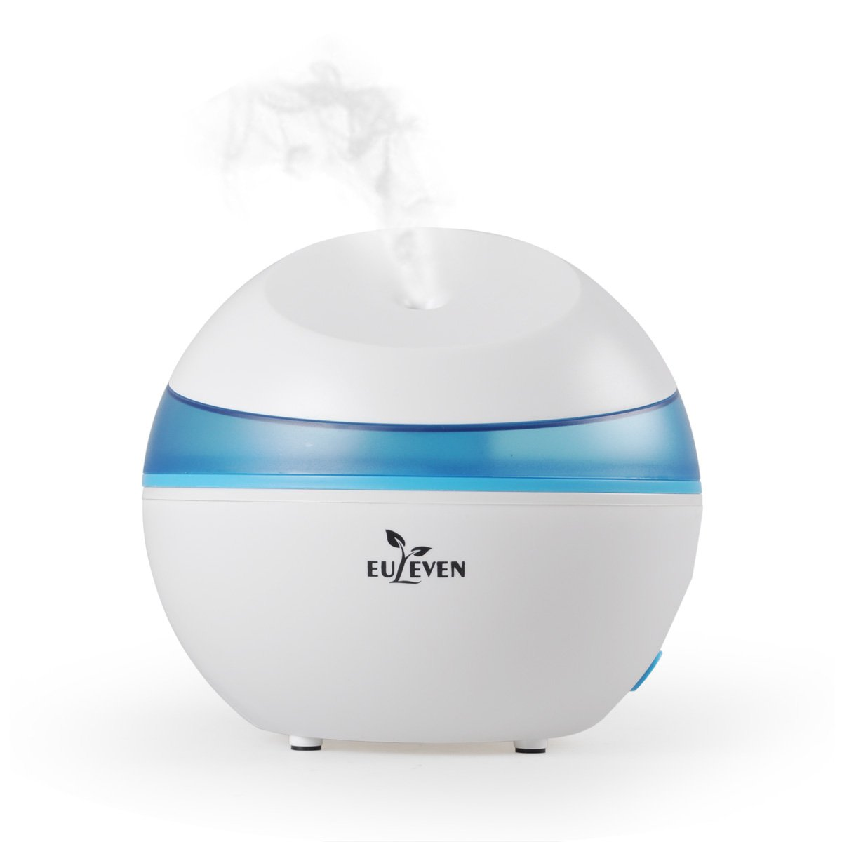 Euleven Cool mist humidifier with quite operation,1.5L water tank capacity , Ultrasonic humidifier ,Waterless Auto Shut-off with 10 hours working time perfect for home,bedroom ,office