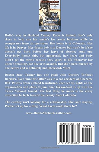 Her Healing Cowboy (Harland County Series) (Volume 5): Donna
