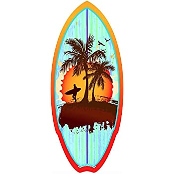 Amazon Com Home Decor Original Mini Surfboard Skimboard