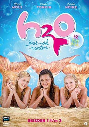 H20 Just Add Water - Complete Series 12 DVD Box Set Collection: Amazon.es: Martin Vaughan, Cariba Heine, Phoebe Tonkin, Angus McLaren, Claire Holt, Burgess Abernethy, Cleo Massey, Alan David Lee, Jamie Timony,