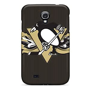 JasonPelletier Samsung Galaxy S4 Protective Cell-phone Hard Covers Custom Colorful Pittsburgh Penguins Pictures [wOJ2494OahS]