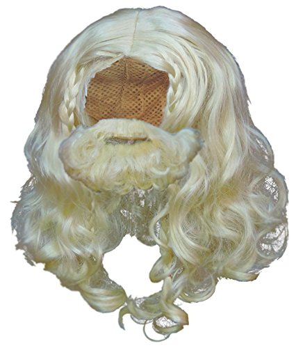 One Viking Wig & Beard Set -