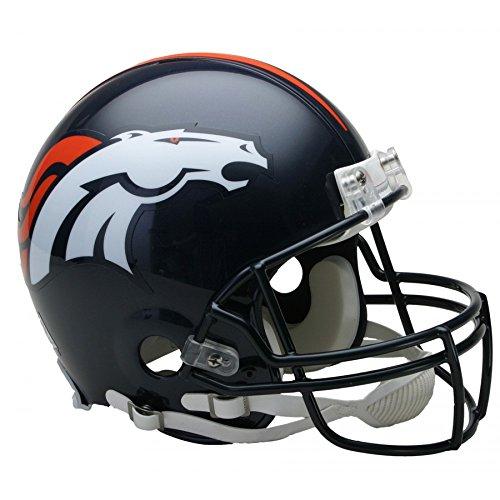 Riddell NFL Denver Broncos Authentic Vsr4 Full Size Football Helmet
