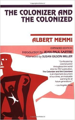 albert memmi the colonizer and the colonized pdf