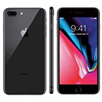 "iPhone 8 Plus Apple 64GB Cinza Espacial Tela Retina HD 5,5"" IOS 11 4G e Câmera de 12 MP"