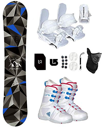 Symbolic Arctic Girl's Snowboard & Bindings & Boots Package