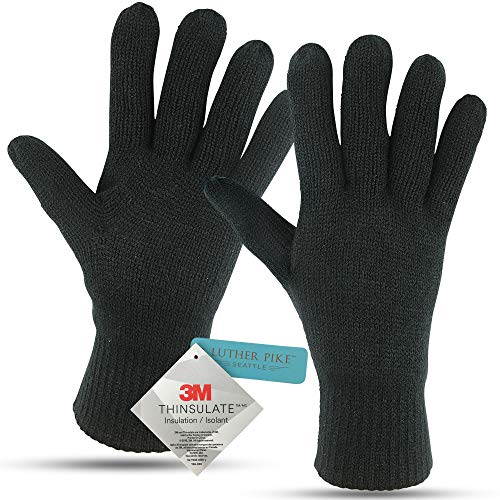 Winter Gloves For Men: Mens Cold Weather Heated Snow Glove